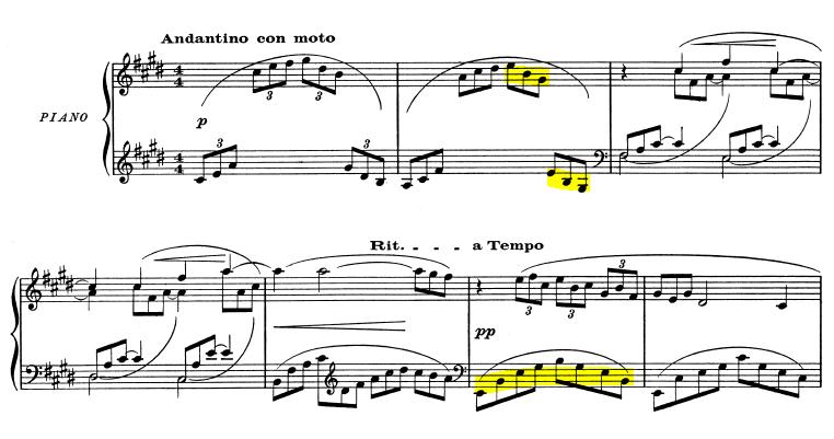 Arabesque Debussy